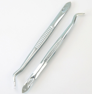 Wholesale stainless steel dental tweezers