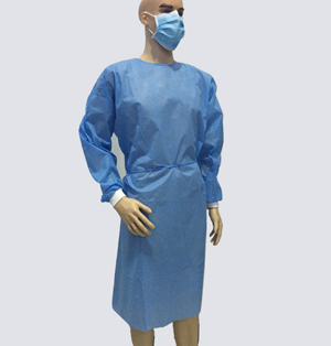 Gown SMS non-woven blood waterproof clothing dusters