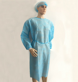 Disposable gowns medical surgical beauty salon gown