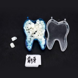 Anterior teeth posterior crown temporary dental equipment
