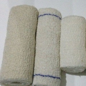 All cotton corrugated bandage white confectionery bag has no blue line
