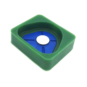 Dental silicone base High-strength magnet