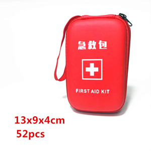 Wholesale portable outdoor waterproof nylon first aid kit