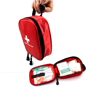 Wholesale nylon waterproof outdoor portable medical first aid kit