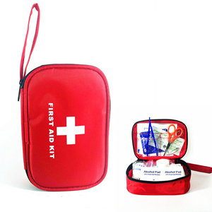 Cheap 13 kinds of 41 components portable outdoor medical first aid kit