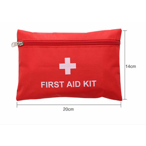 Wholesale portable household first aid waterproof nylon medical kit