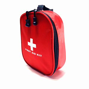 China cheap portable waterproof nylon outdoor medical first aid kit
